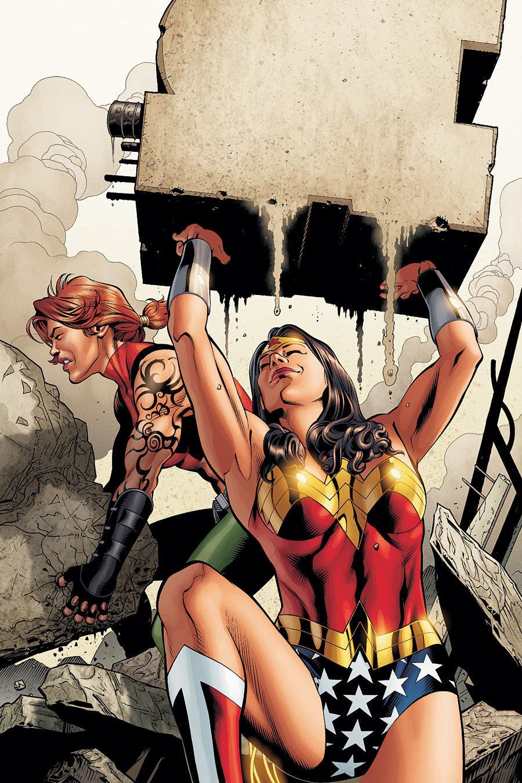Outsiders: Five of a Kind - Wonder Woman/Grace Vol 1 1