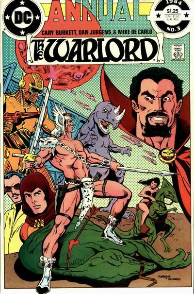 Warlord Annual Vol 1 3