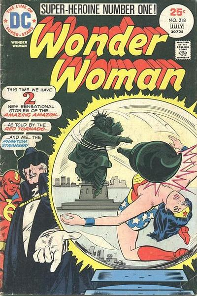 Wonder Woman Vol 1 218