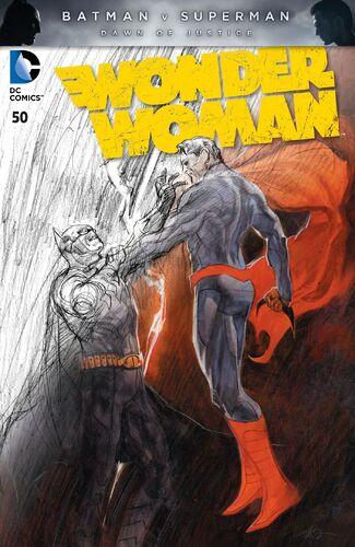 Batman v Superman Fade Variant