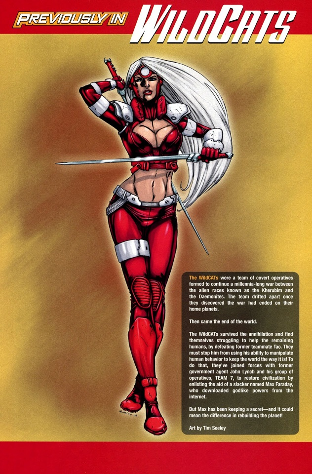 Zannah of Khera (Wildstorm Universe)