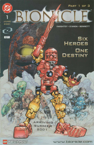 Bionicle Vol 1