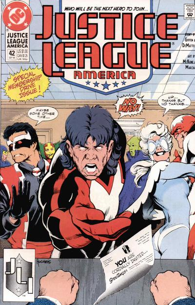 Justice League America Vol 1 42