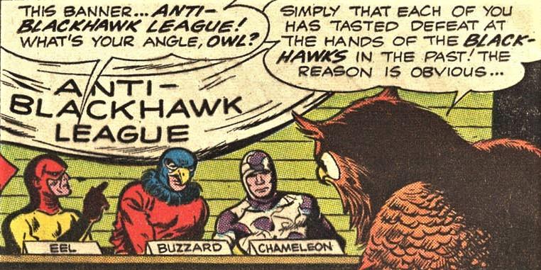 League of Anti-Blackhawks