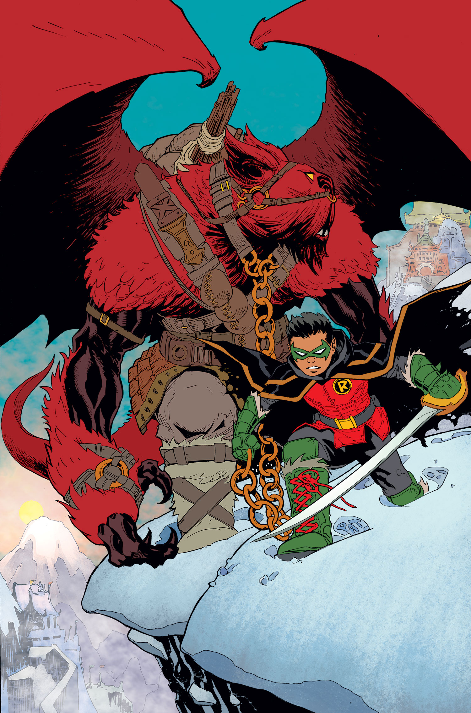 Robin: Son of Batman - Year of Blood (Collected)