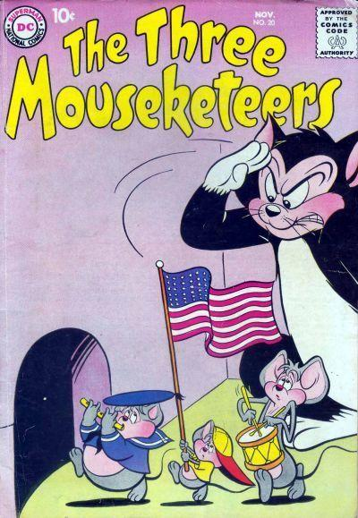 The Three Mouseketeers Vol 1 20