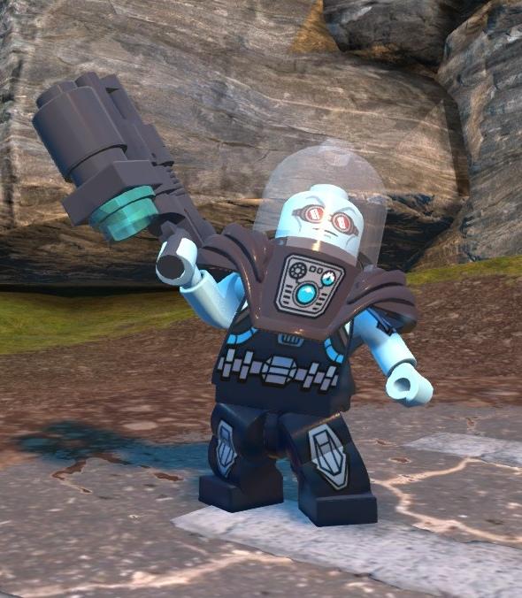 Victor Fries (Lego Batman)