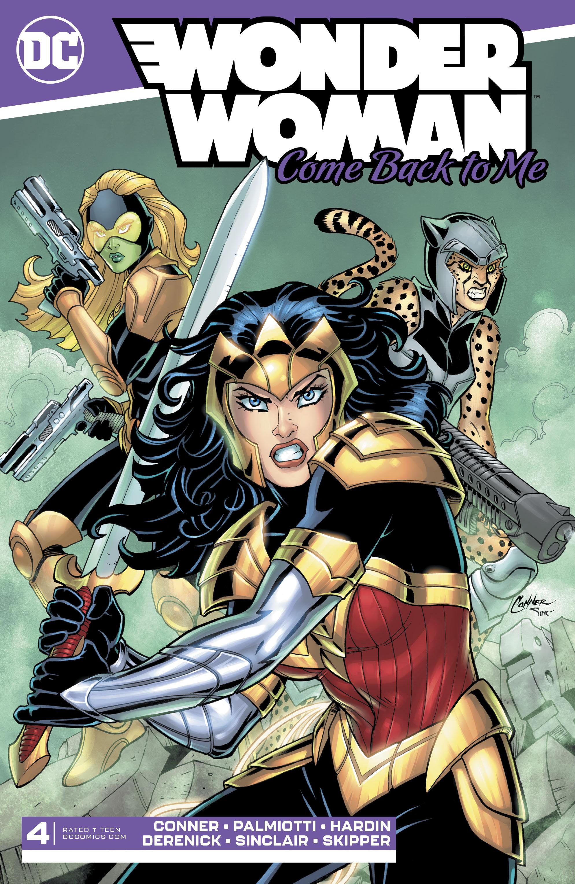 Wonder Woman: Come Back to Me Vol 1 4