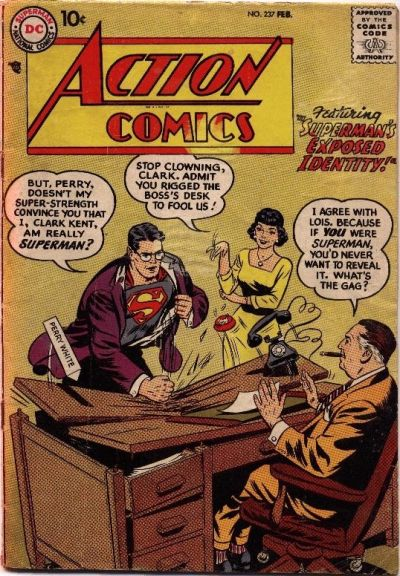 Action Comics Vol 1 237