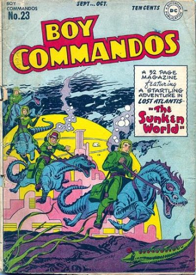 Boy Commandos Vol 1 23