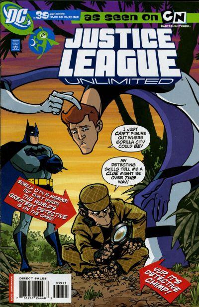 Justice League Unlimited Vol 1 39