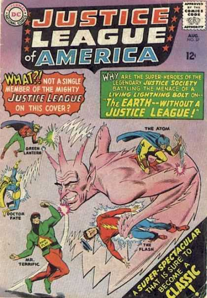 Justice League of America Vol 1 37