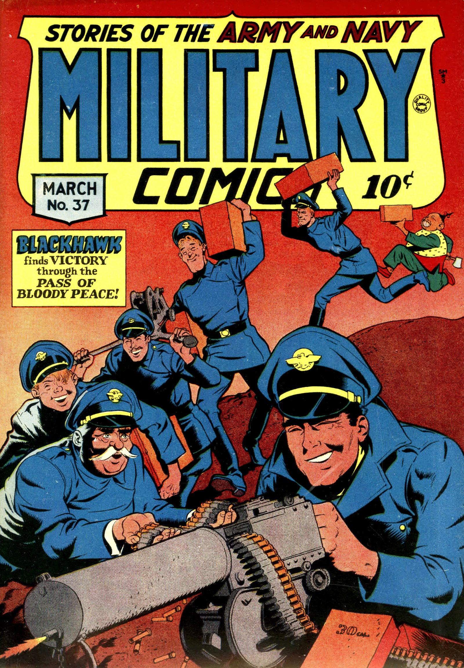 Military Comics Vol 1 37