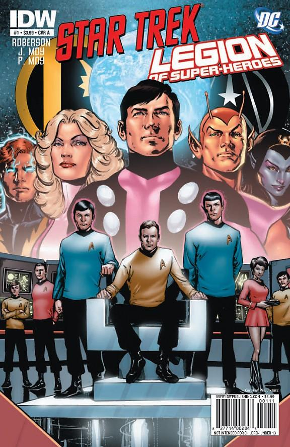 Star Trek/Legion of Super-Heroes Vol 1