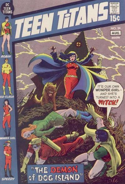 Teen Titans Vol 1 34