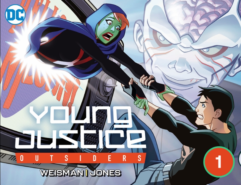 Young Justice: Outsiders Vol 1 1 (Digital)