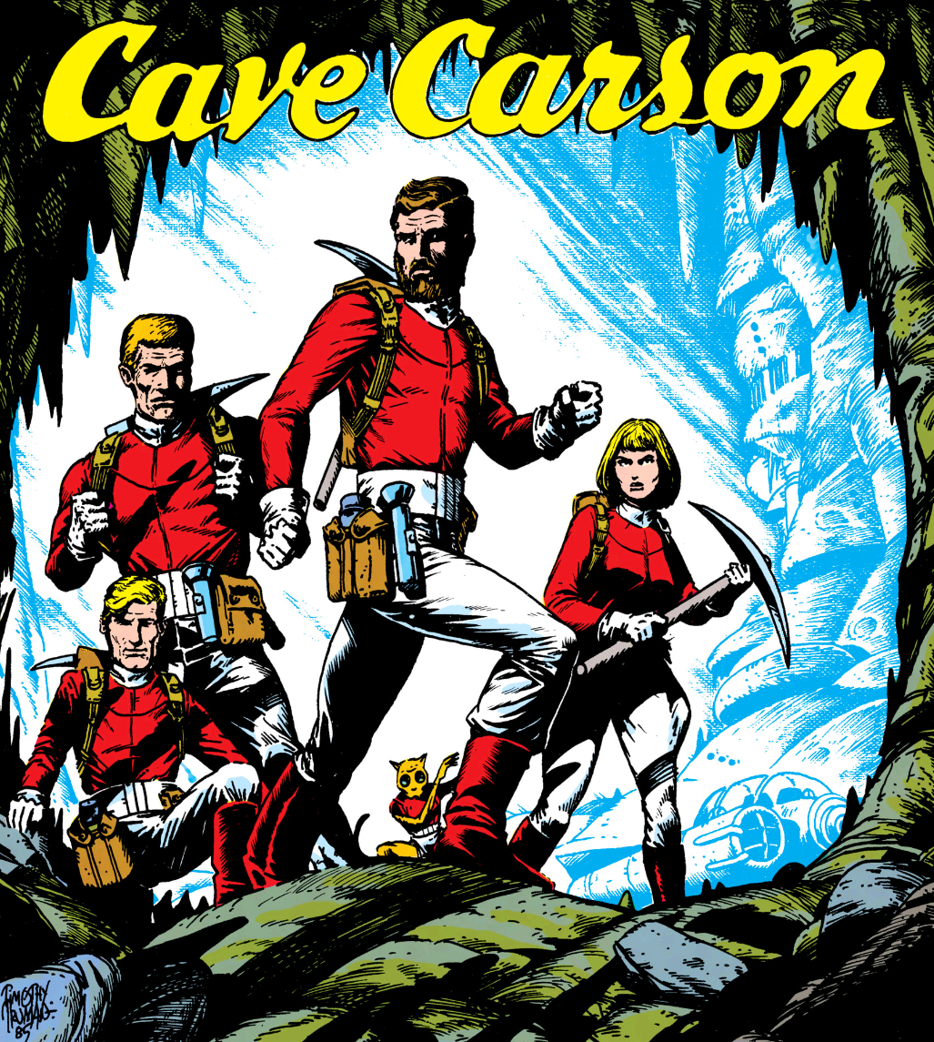 Cave Carson's Team/Gallery