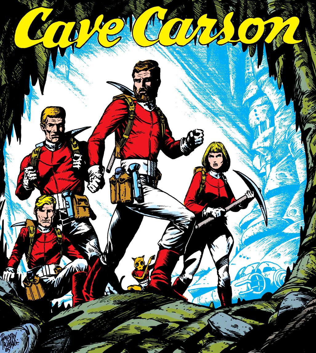Cave Carson's Team