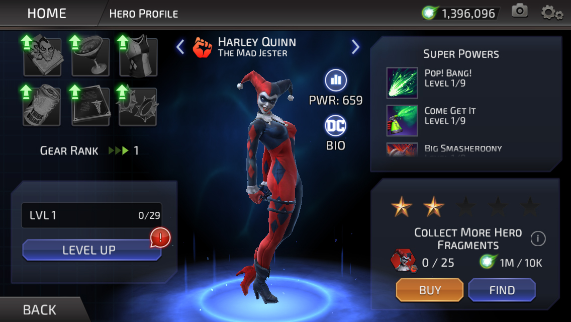 Harleen Quinzel (DC Legends)
