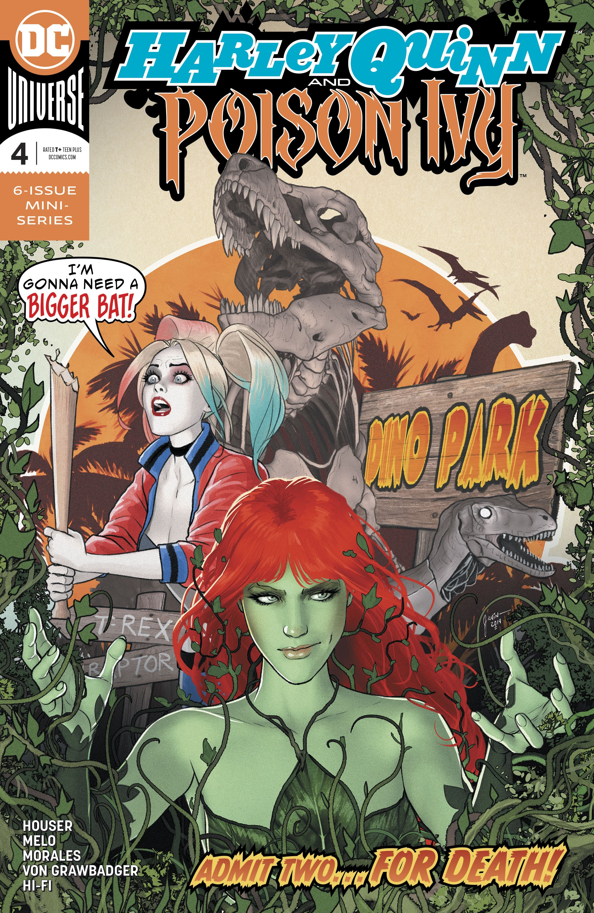 Harley Quinn and Poison Ivy Vol 1 4