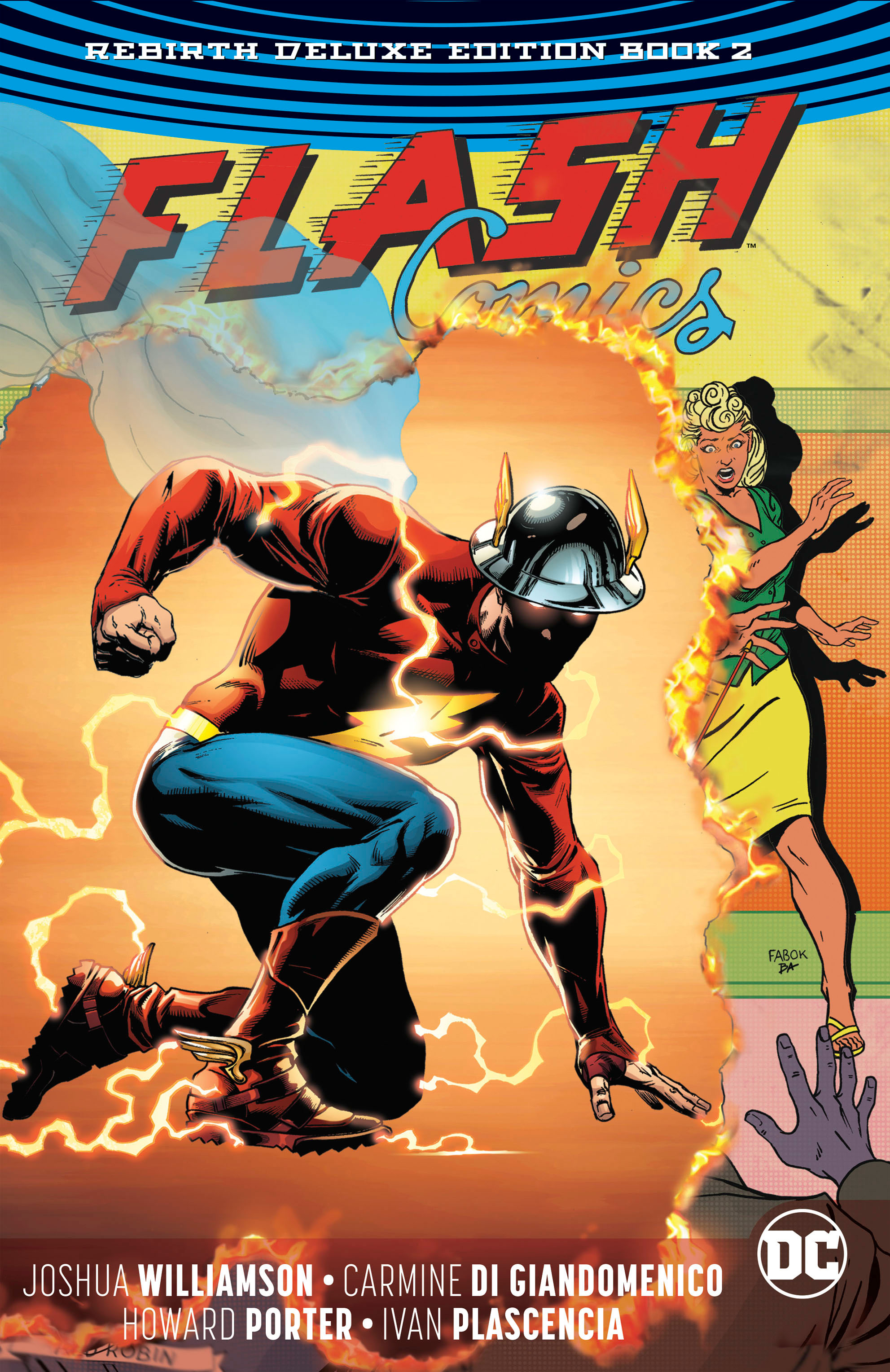 The Flash: Rebirth Deluxe Edition Book 2 (Collected)