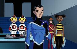 Titans East Earth Teen Titans.JPG