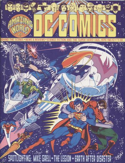 Amazing World of DC Comics Vol 1 12