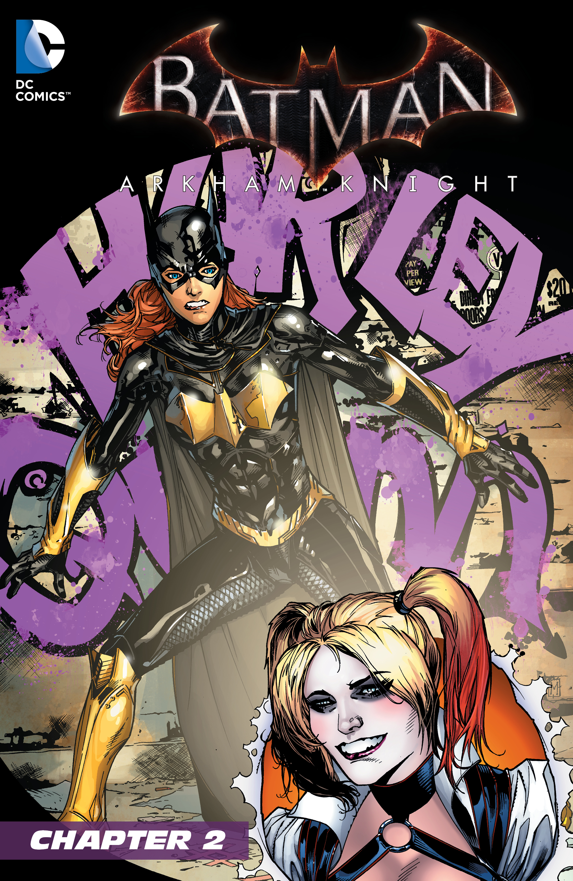 Batgirl: Arkham Knight: Batgirl and Harley Quinn Vol 1 2 (Digital)