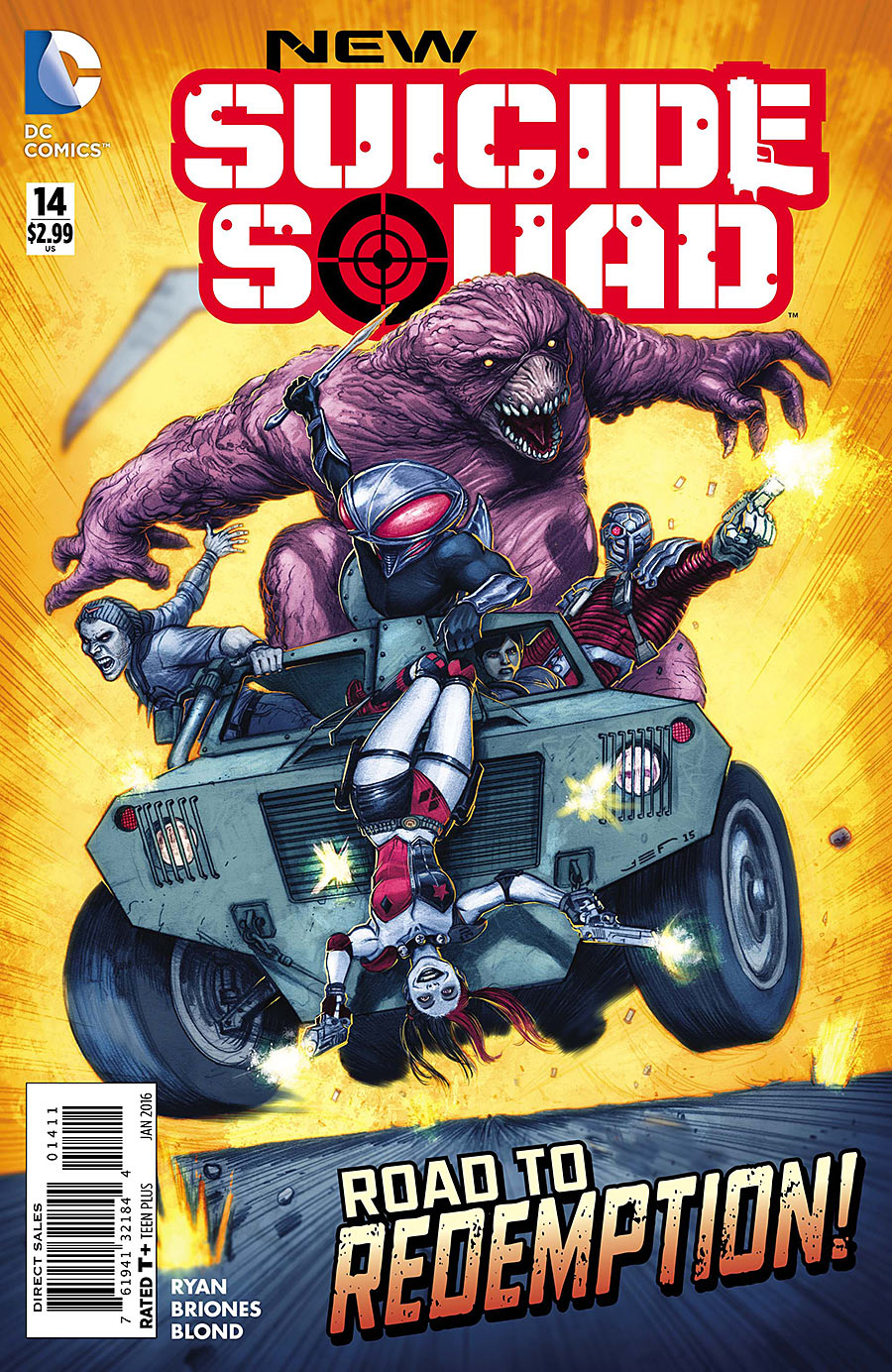 New Suicide Squad Vol 1 14