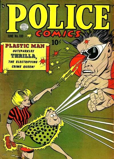 Police Comics Vol 1 100