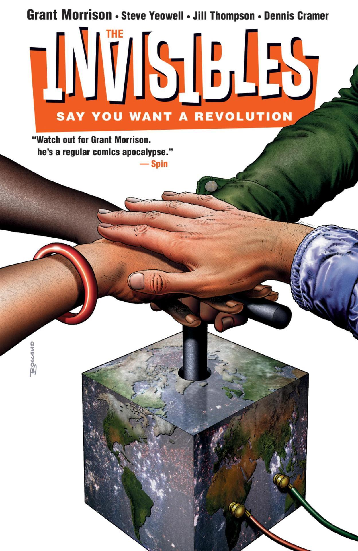 The Invisibles Volume 01: Say You Want a Revolution (Collected)