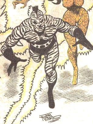 Zebra-Man II (New Earth)
