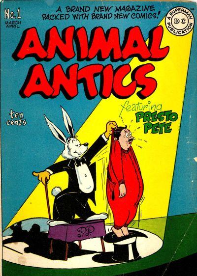 Animal Antics Vol 1
