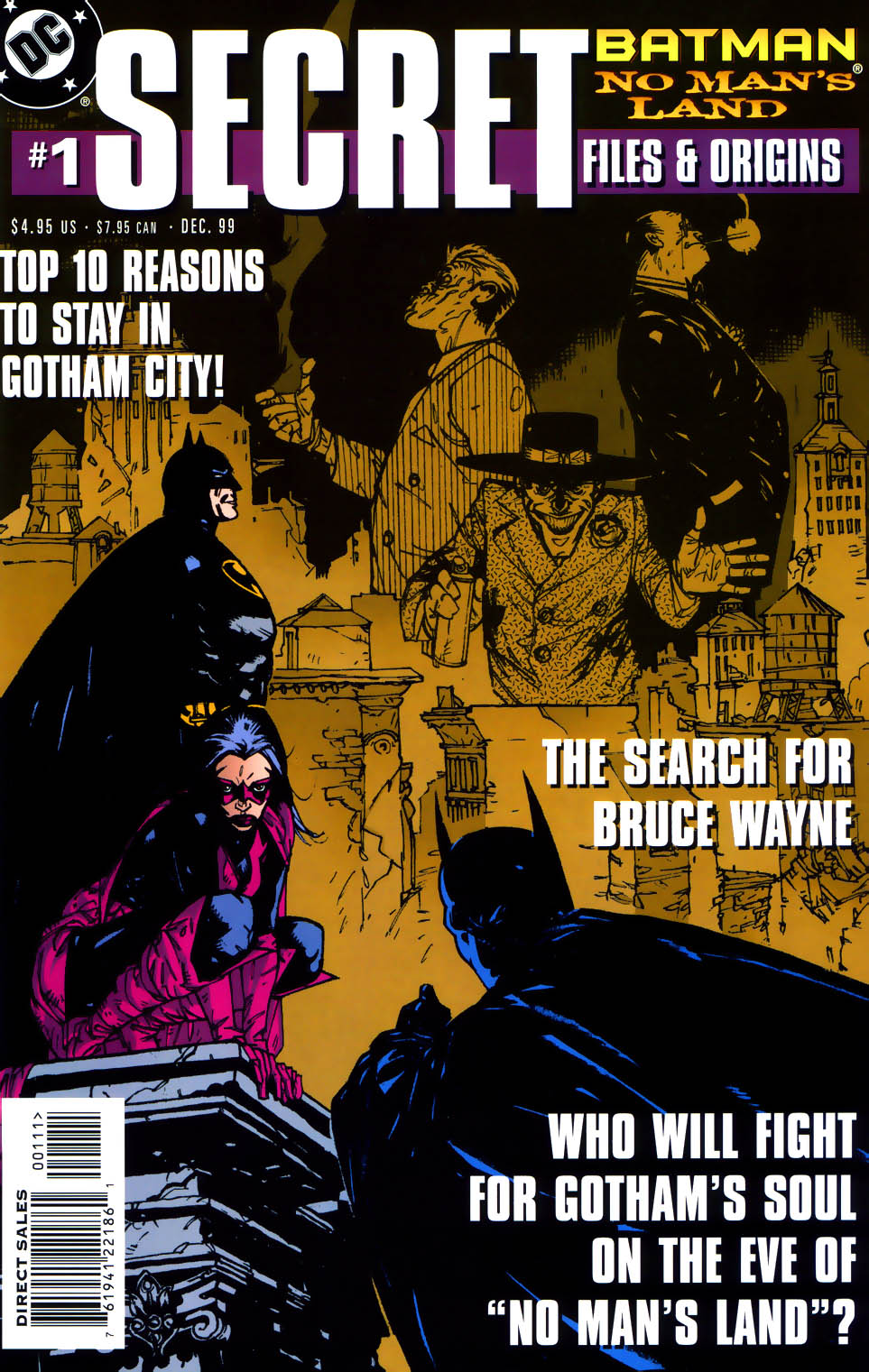 Batman: No Man's Land Secret Files and Origins Vol 1 1