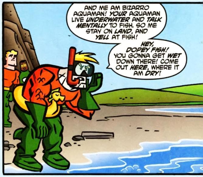 Bizarro Aquaman (Earth-508)
