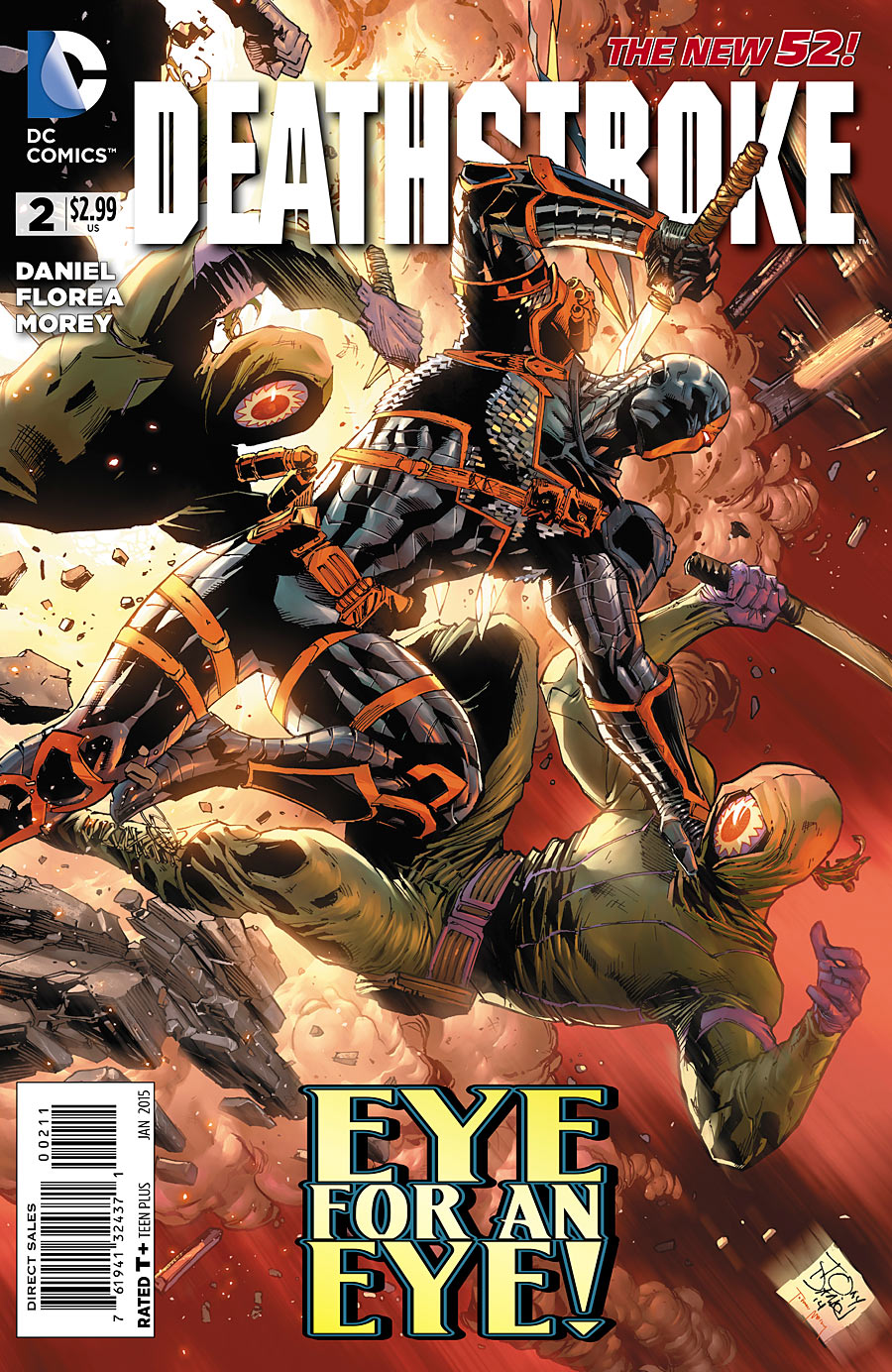 Deathstroke Vol 3 2