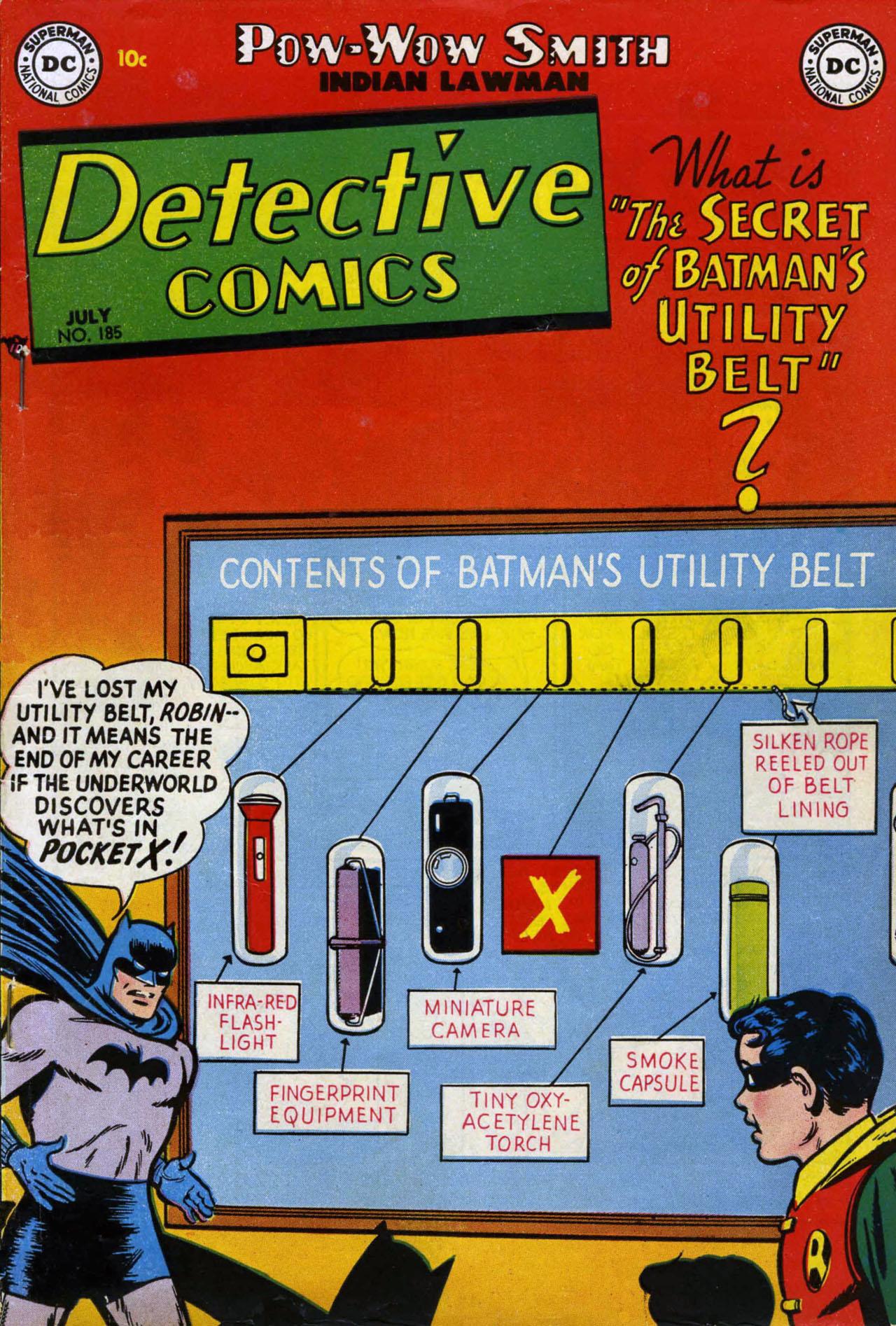 Detective Comics Vol 1 185