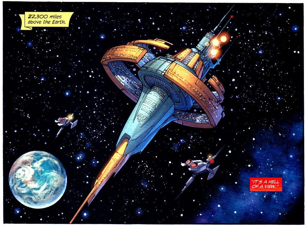 Justice League Satellite II