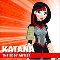 Katana DC Super Hero Girls 0001
