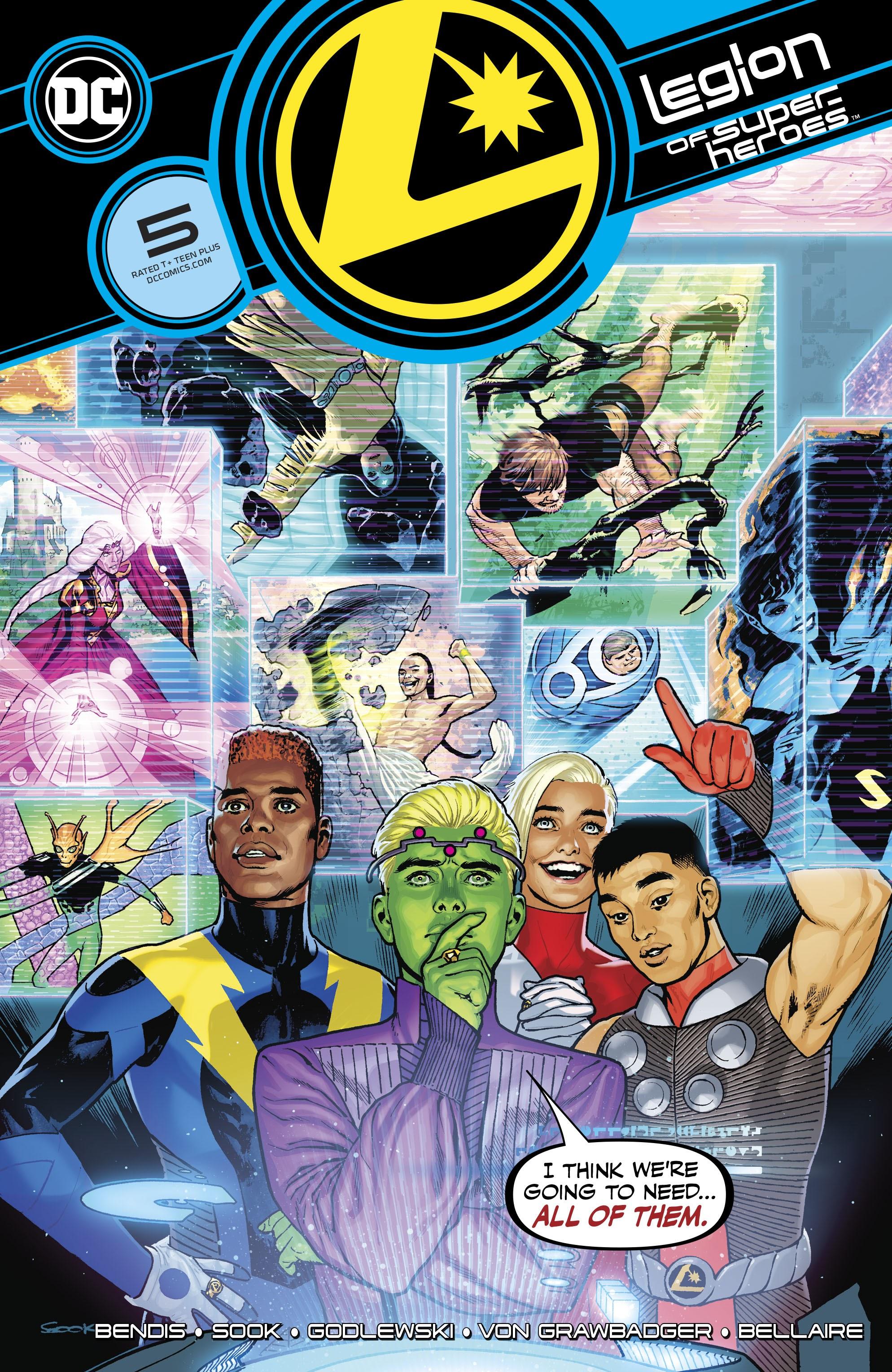 Legion of Super-Heroes Vol 8 5