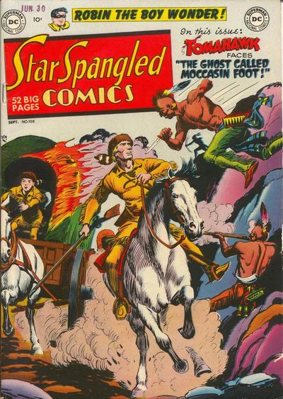 Star-Spangled Comics Vol 1 108