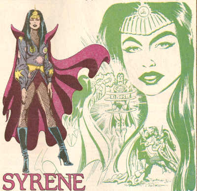 Syrene (Earth-One)