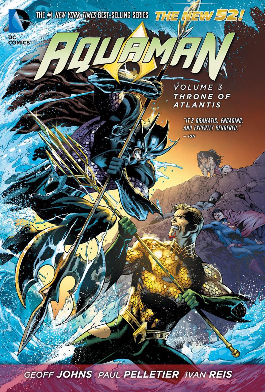 Aquaman: Throne of Atlantis (Collected)