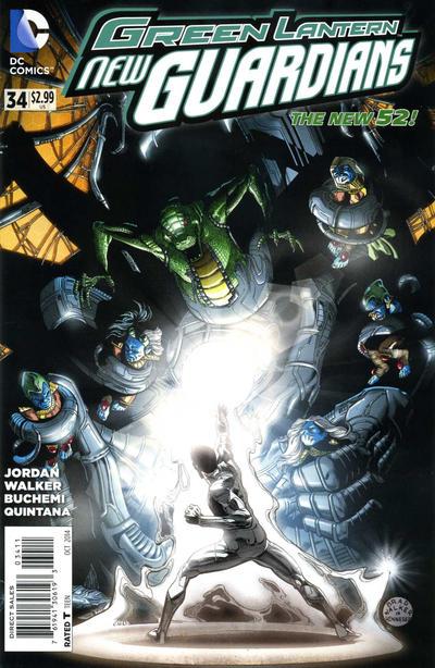 Green Lantern: New Guardians Vol 1 34