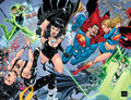 Justice League of America Vol 2 50 Textless Back and Front