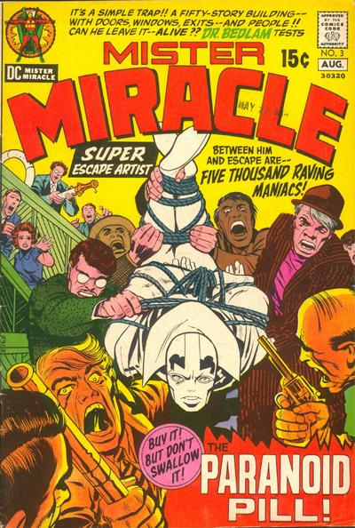 Mister Miracle Vol 1 3