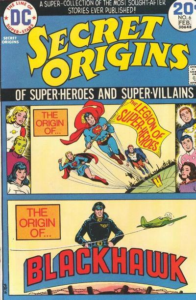 Secret Origins Vol 1 6
