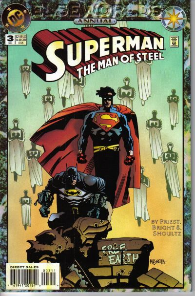 Superman: The Man of Steel Annual Vol 1 3