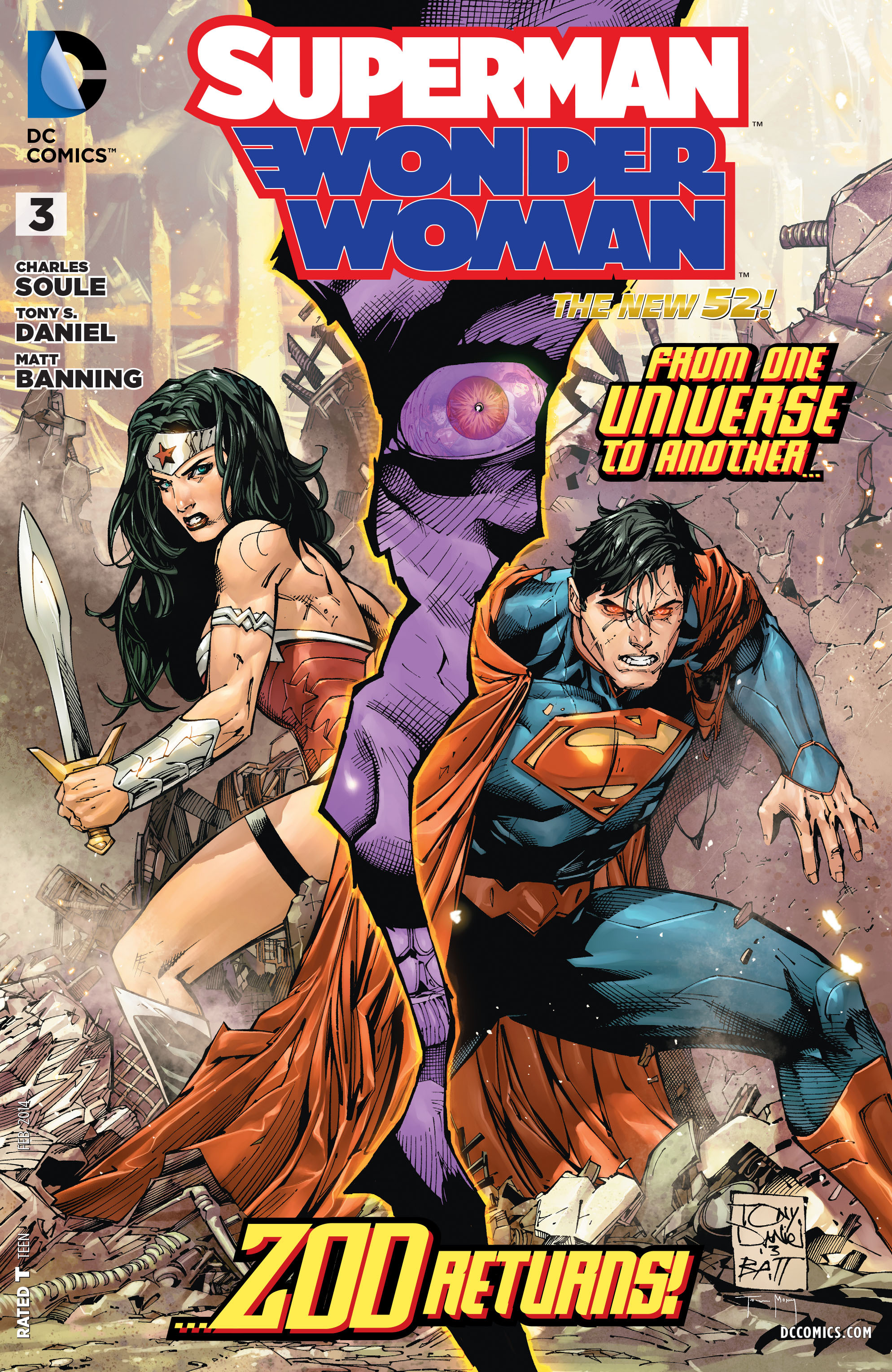 Superman/Wonder Woman Vol 1 3