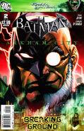 Batman Arkham City Vol 1 2